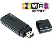TRENDnet Wireless USB – 2.4Ghz – 802.11/n – 300Mpbs-TEW-624UB