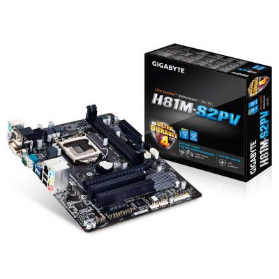 Gigabyte-H81M-S2PT-DDR3 up to 16Go