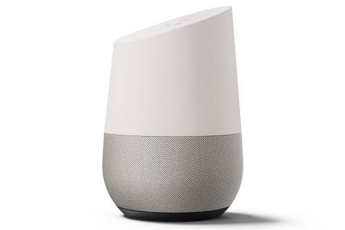 google home alg rie la nouvelle enceinte commande vocale. Black Bedroom Furniture Sets. Home Design Ideas